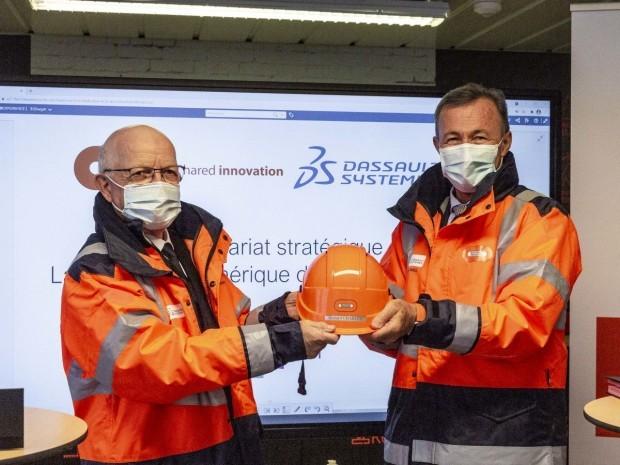 Bouygues construction et Dassault Systèmes