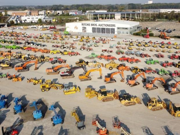Vers un regain du marché des engins de chantiers ...
