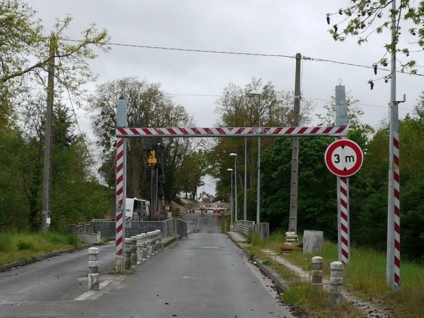 Le Pont Cotelle, dans l'Orléanais.