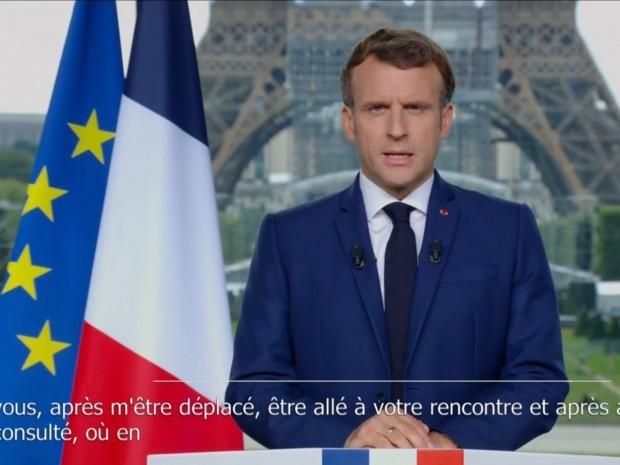 E. Macron, le 12 juillet 2021