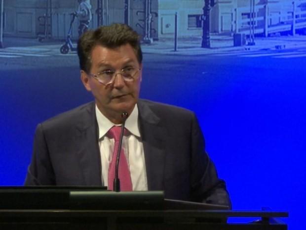 Olivier Roussat, directeur général de Bouygues