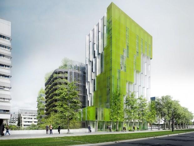 Alguesens XTU architects AlgoHouse