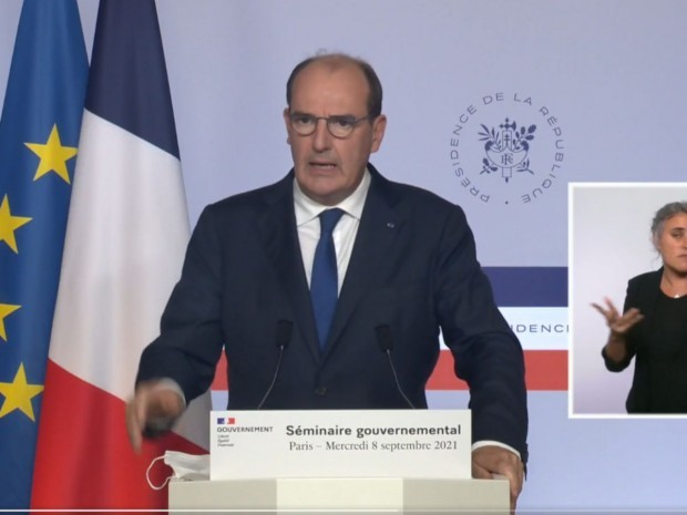 Jean Castex, le 8 septembre 2021