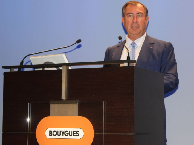 Martin Bouygues, PDG du groupe Bouygues