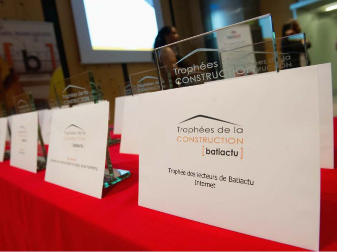 Photos : Dominique Eskenazi <b>|</b> Trophées de la Construction 2016