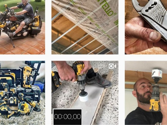 Instagram @tools_player  <b>|</b> Instagram @tools_player fan de la marque Dewalt
