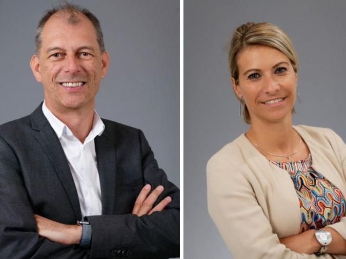 Marc Brévière et Cécile Folachier