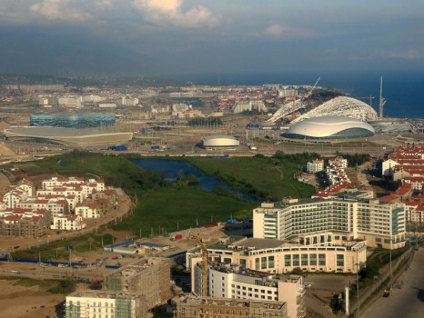 Coastal olympic village