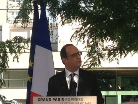 Discours de François Hollande et Grand paris