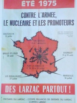 Affiche du Larzac (1975)