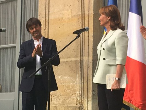 Nicolas Hulot et Ségolène Royal, le 17 mai 2017