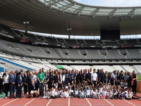 Site JO Paris2024 : visite de la Commission d\'évaluation du CIO le 13 mai 2017 au Stade de France