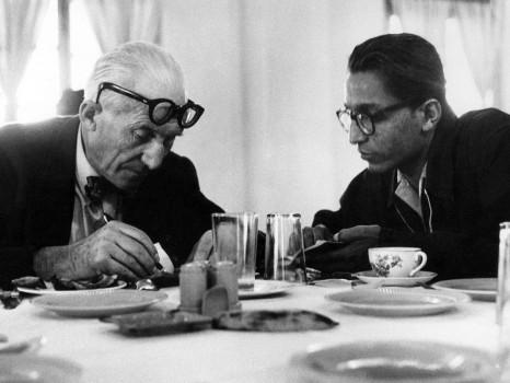 B. Doshi et Le Corbusier