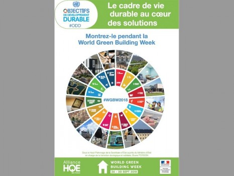 Affiche Green Building Week 2018