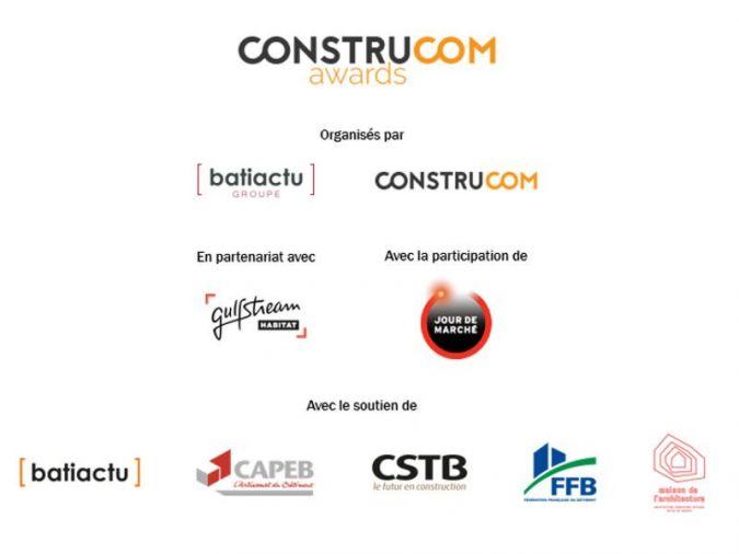 Partenaires ConstruCom Awards 2019