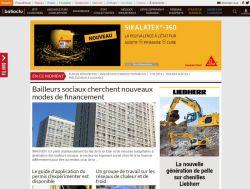 Page d'accueil de Batiactu