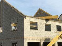 Maison individuelle en chantier