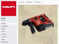 Pages Facebook Hilti