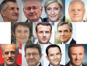 Candidats à l'élection présidentielle 2017