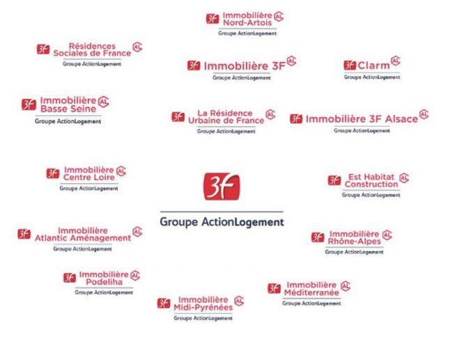 Nouveau logo pour 3F et ses filiales