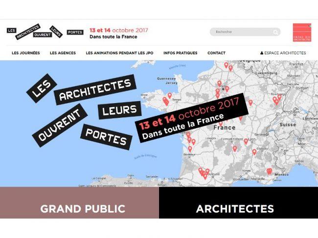 Portes ouvertes architectes 2017
