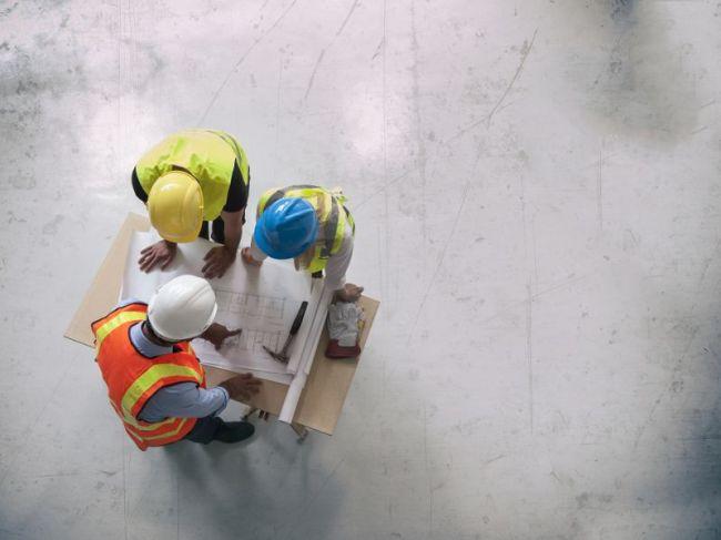 Illustration professionnels artisans bâtiment