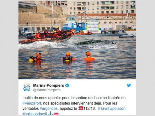 tweet marin pompier marseille